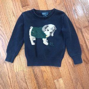 Toddler Boy polo Sweater